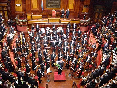东西融汇中国爱乐乐团罗马演出深受欢迎