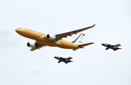 澳国防部与EADS公司签署购买5架空中加油机(组图)