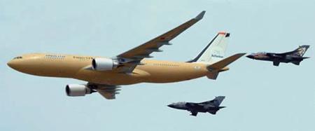 澳与EADS正式签署购买5架A330加油/运输机合同(图)