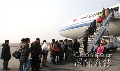 成都至拉萨的ca4401航班的旅客