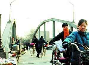 """横跨子牙河的68岁""""大红桥""""年内即将退休(图)"""