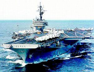 美新航母建造进度滞后 小鹰号将推迟退役