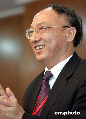 图:刘鹏当选中国奥委会主席