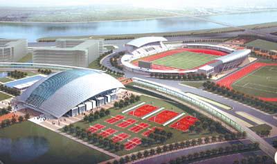 廣州大學體育場館設計方案