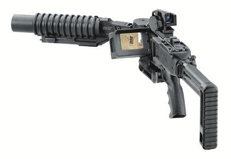以色列拐弯榴弹发射器频繁亮相武器装备展(图)