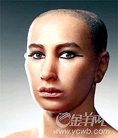 埃及法老原是美少年 3国考古者还原木乃伊真面目图片