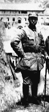合唱谱西海之雁-这是国民党爱国将领续范亭剖腹明志时留下的绝命诗.1935年12月26