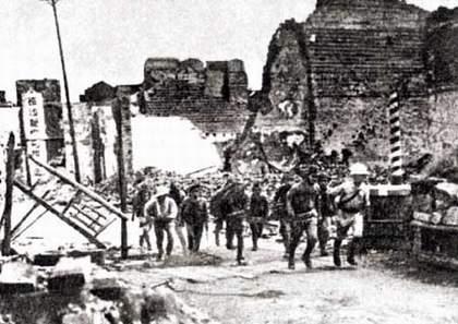 抗日战场:衡阳全城炸剩三栋屋