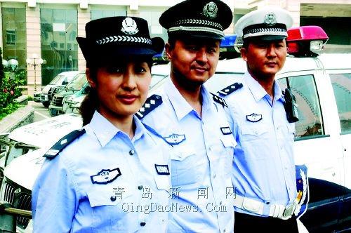 中国公安警服_万余警察今亮新夏装 我市全省率先换发警服(图)