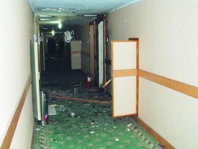 准备炸药预谋作案不慎引爆3嫌疑人宾馆内1死2伤(图)