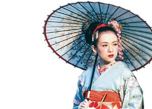 章子怡在《艺伎回忆录》中饰演小百合-艺伎回忆录 在日遭抱怨图片