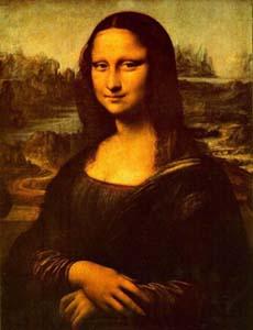 计算机解密蒙娜丽莎幸福表情占83%(图)