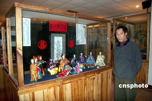 图:台湾著名布袋戏艺术家李传灿
