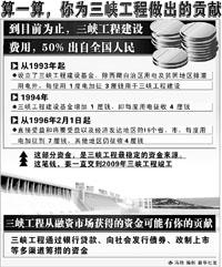 2010年后三峡输送电力有望进京