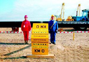 中哈石油管道昨起正式输油