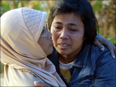 印尼地震幸存儿童重返学校灾民生存状况堪忧