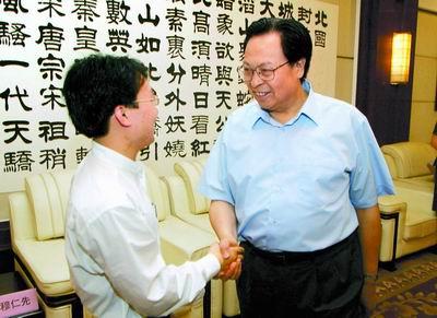 徐光春勉励赴京巡回报告的洪战辉事迹报告团