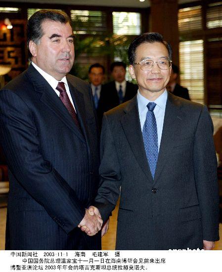 塔吉克斯坦总统:上海合作组织没有假想敌