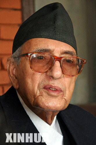 尼泊尔首相因肺炎住院当天议会日程取消