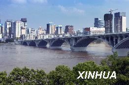 湘江洪峰顺利通过长沙速度比预计要快