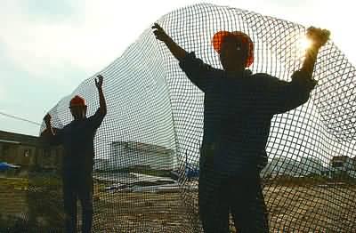 渔网编织方法步骤图解