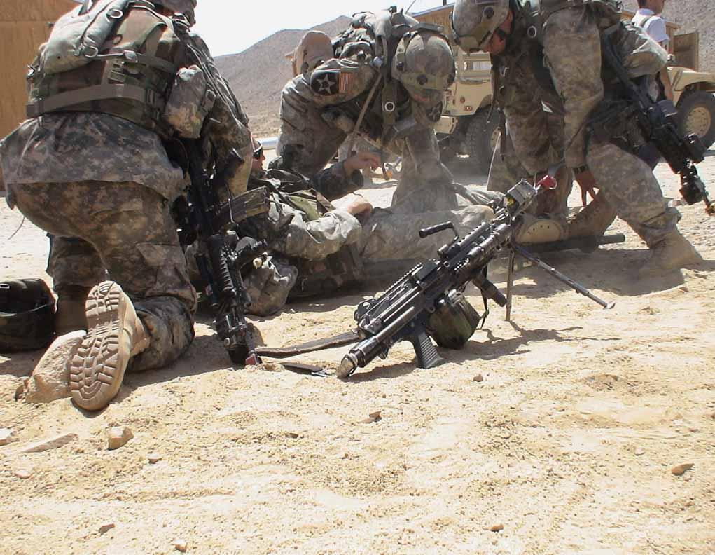 走进美军死亡谷 感受仿真伊拉克高温作战(组图