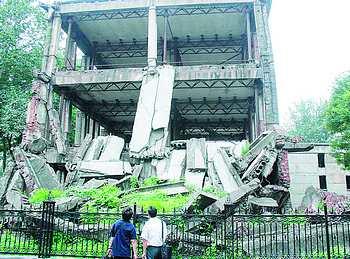 三座地震遗址的叙说