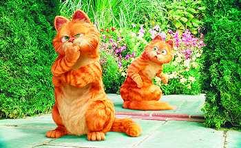 《加菲猫2》剧照 国新供图