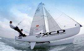 台商出资建帆船队参加奥运 500万打造托纳多级