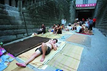 重庆高温干旱目击记:火炉上的日子(组图)