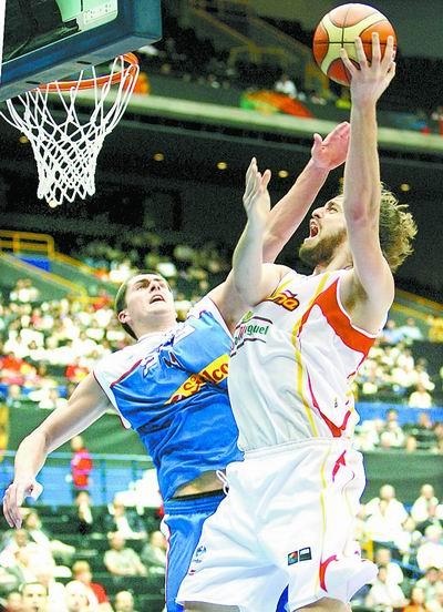 篮球世锦赛:卫冕冠军塞黑出局