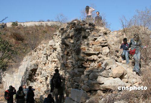 国家文物局副局长表示部分长城遭到开发性破坏