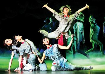 剧厅开幕.上海歌舞团、东方青春歌舞团和南京军区政治部前线文工