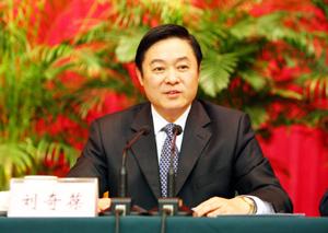 自治区党委书记刘奇葆向广大网友恭贺新年