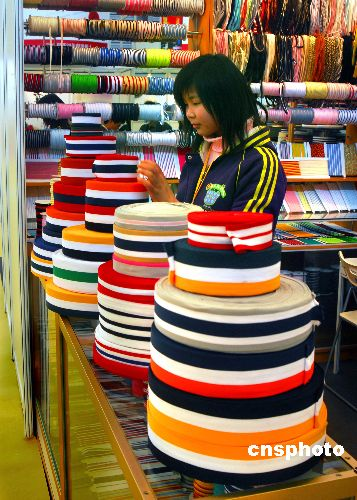 纺织行业转变增长方式去年获得13.6亿专项资金