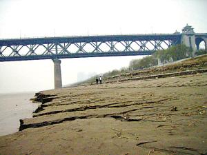 长江遭遇142年最低水位之惑