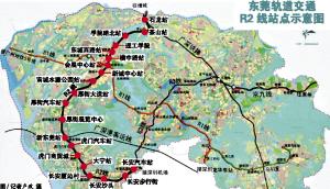 目前东莞市的土地资源较为紧张,而该线路轨道沿线却有大量低层次的