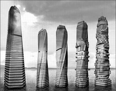 """迪拜将建摩天大厦能""""随风起舞"""""""
