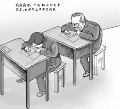 高考30年特刊:高考辞典之恢复高考