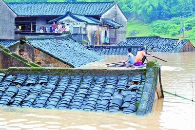 湖南广东广西贵州等地遭受洪灾