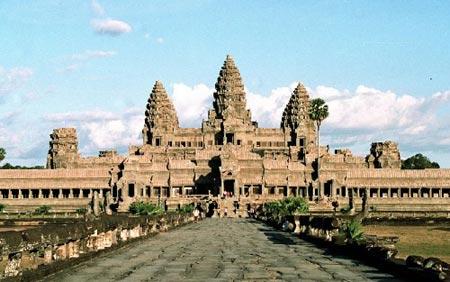 图文:世界遗产--东南亚柬埔寨吴哥古迹
