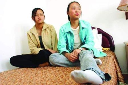 幼女帮我打手_32名湖北少女被骗到广州卖淫 两地警方大营救