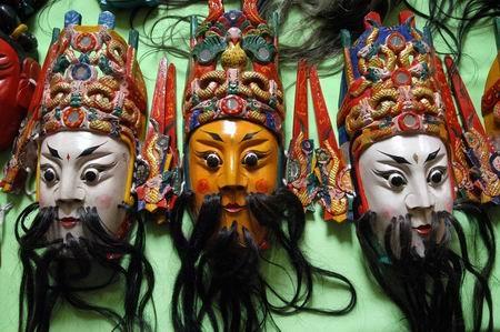 组图:揭开贵州木雕艺术的神秘面纱