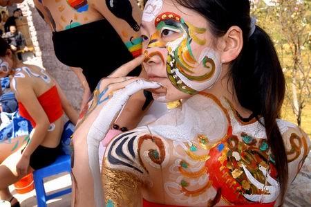 韩国大尺度人体艺术图片_组图:贵州\