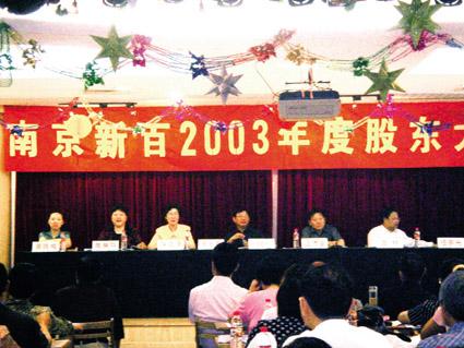 聚焦南京新百公司股东大会图片 78092 425x319