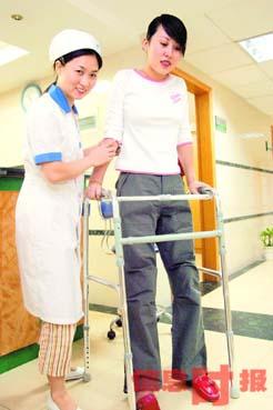 广州人造美女增高8厘米将做脸骨缩短手术(图)
