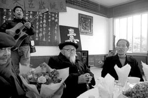 105岁老寿星五世同堂最小儿子已76岁高龄(图)
