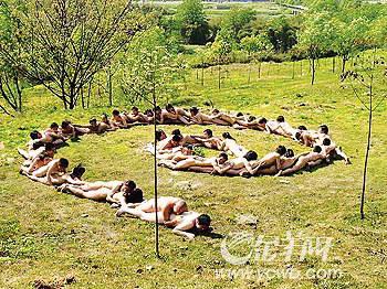 四川41位男女大学生裸体行为艺术事件回顾(图)