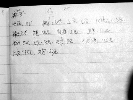 南方周末:发廊女生前日记怆平生(组图)