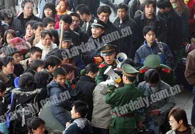 北京西站上车旅客超过13万人启动黄色预警方案